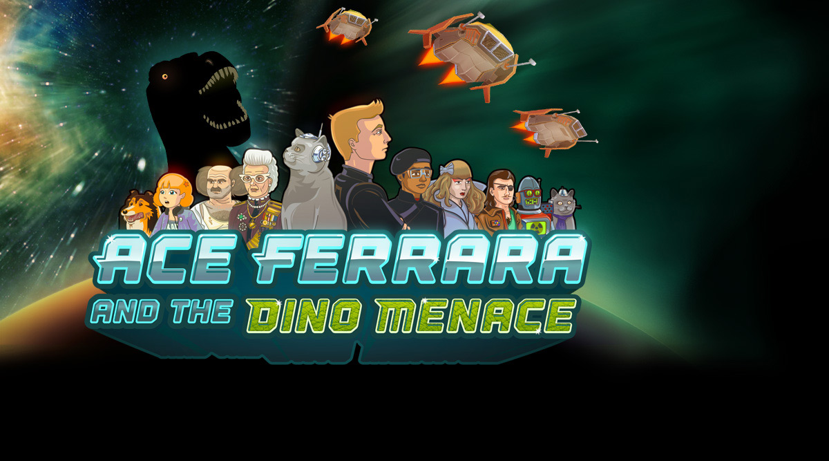 Ace Ferrara and the Dino Menace, out for iOS and Android!